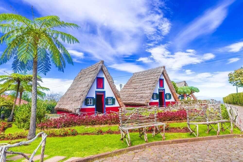 Casas Típicas de Santana, Madeira - Portugal