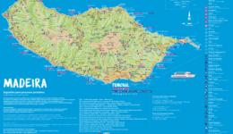 Mapa da Madeira – Ilhas do Arquipélago da Madeira