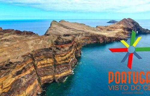 Ponta de São Lourenço vista do céu – imagens simplesmente magníficas