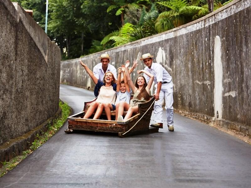 Carros de Cesto de Madeira