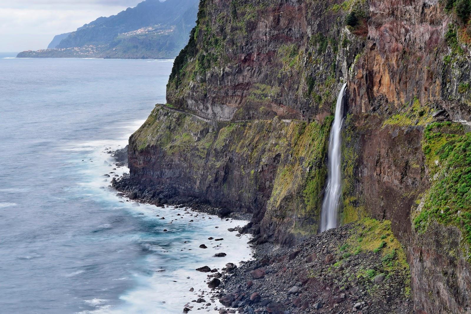 Cascata Véu de Noiva, Madeira