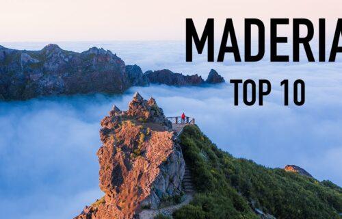 TOP 10 de locais a visitar na Madeira