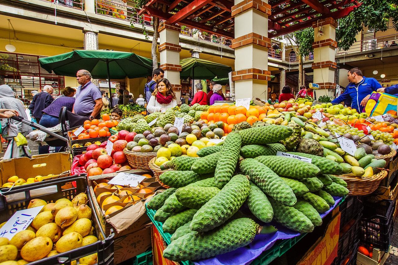 Mercado Funchal - Madeira